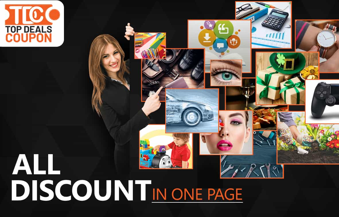 All Discount In One Page banner topdealscoupon