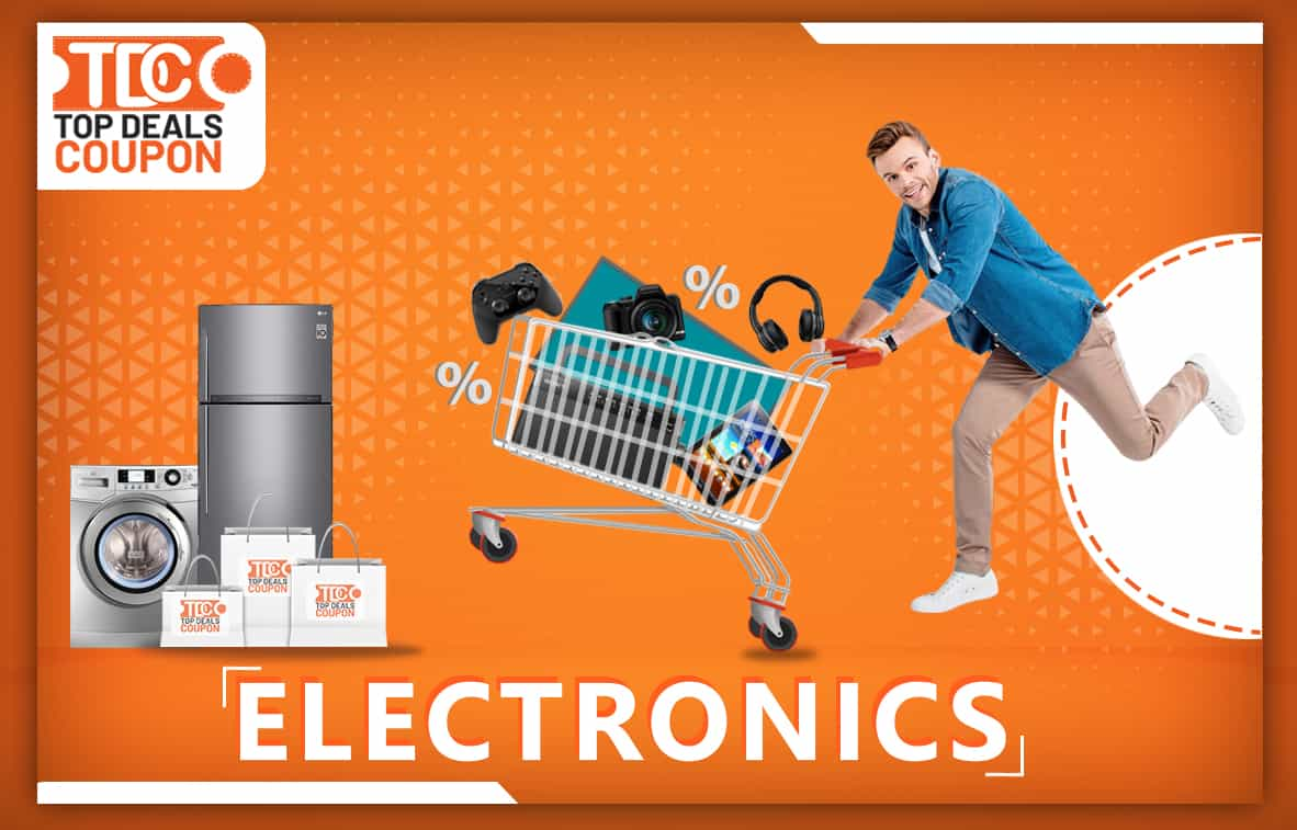 electronics banner topdealscoupon